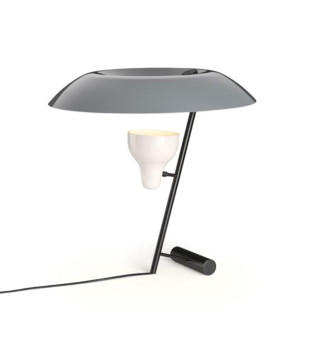 Image of   Astep Model 548 Bordlampe Mørk Messing/Grå