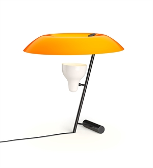 Astep Model 548 Bordlampe Mørk Messing/Orange