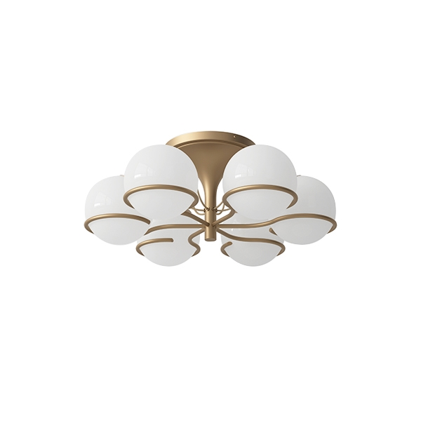 Astep Model 2042/6 Loftlampe Champagne