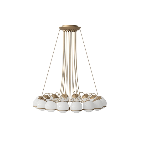 Image of Astep Model 2109/16/14 Loftlampe Champagne