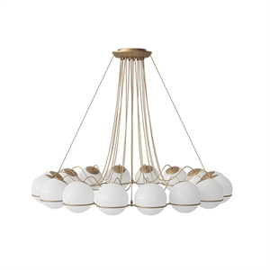 Astep Model 2109/16/20 Loftlampe champagne