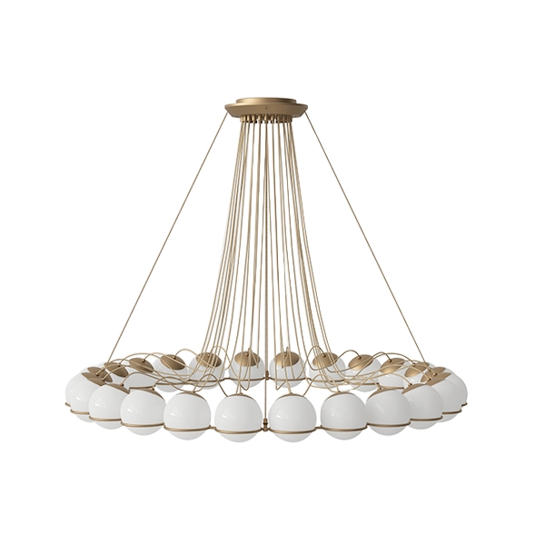 Image of Astep Model 2109/24/14 Loftlampe Champagne