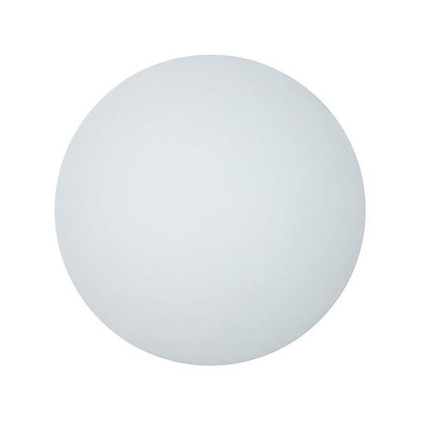 Astro Elipse Round 350 Gips Væglampe Hvid