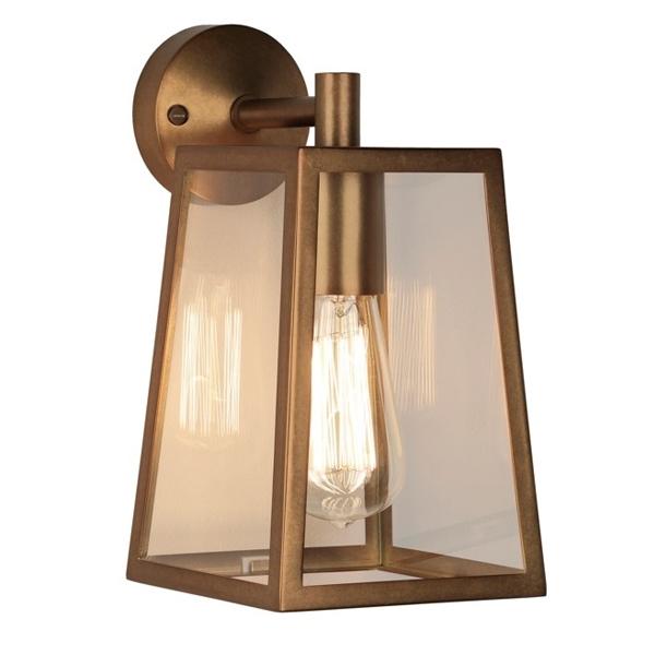 Image of Astro Calvi Udendørslampe Væglampe Antik Messing
