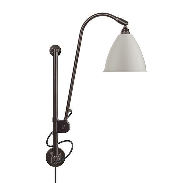 Bestlite BL5 Væglampe Sort Messing & Hvid