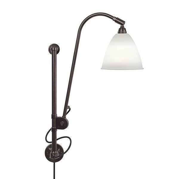 Bestlite BL5 Væglampe Sort Messing & Porcelæn