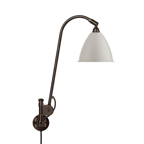 Bestlite BL6 Væglampe Sort Messing & Hvid