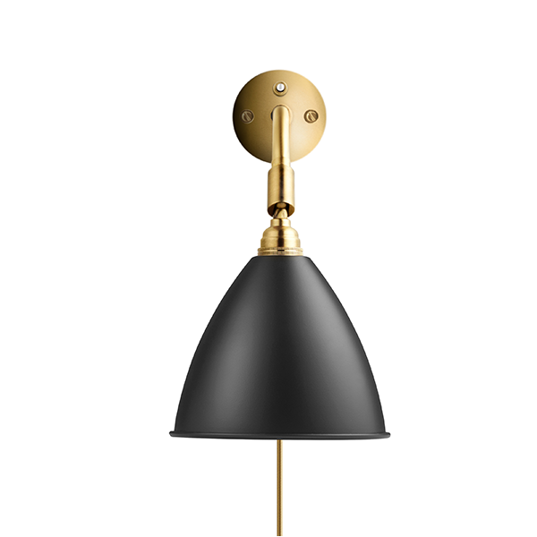 Bestlite BL7 Væglampe Sort & Messing