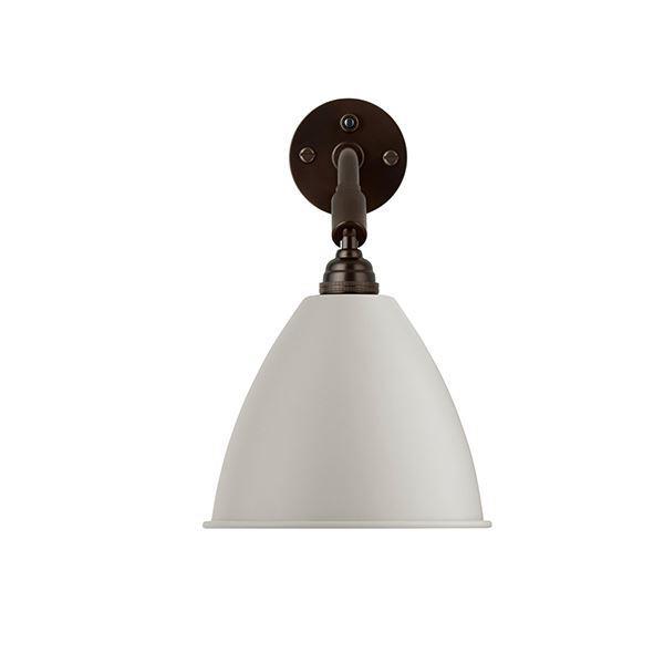 Bestlite BL7 Væglampe Sort Messing & Hvid