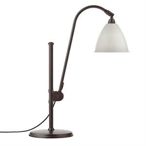 Bestlite BL1 Bordlampe Sort Messing & Hvid