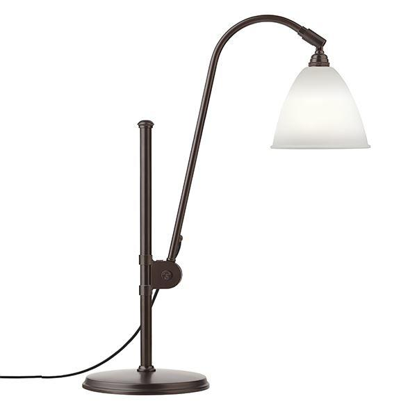 Bestlite BL1 Bordlampe Sort Messing & Porcelæn