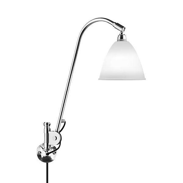 Bestlite BL6 Væglampe Krom & Porcelæn fra Bestlite