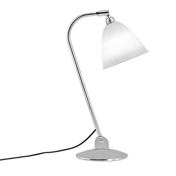 Bestlite BL2 Bordlampe Krom & Porcelæn