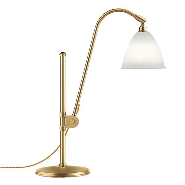 Billede af Bestlite BL1 Bordlampe Messing & Porcelæn
