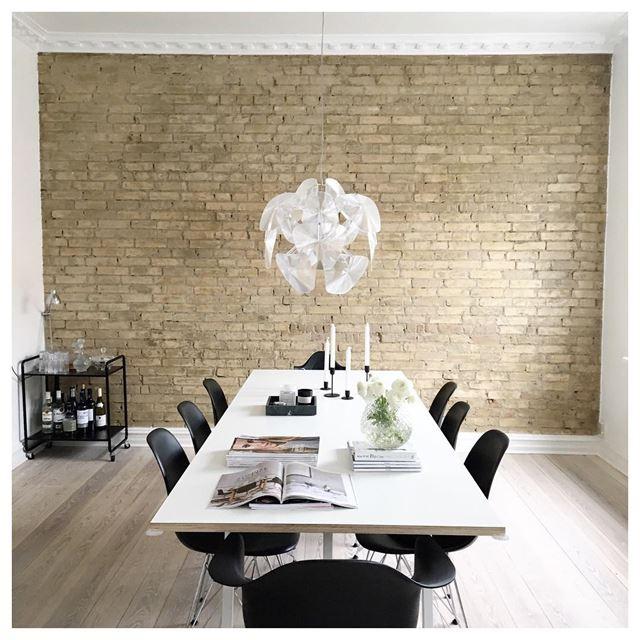 Image of   Ny lampe over spisebordet ?