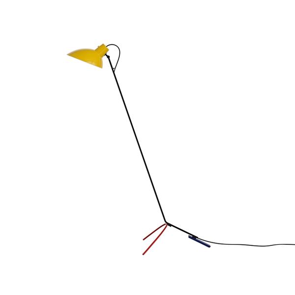 Image of Astep VV Cinquanta Gulvlampe Mondrian/Gul