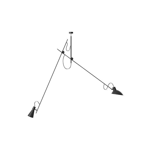 Astep VV Cinquanta Loftlampe Suspension Sort/Sort fra Astep