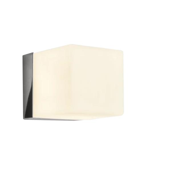 Image of Astro Cube Badeværelseslampe Krom