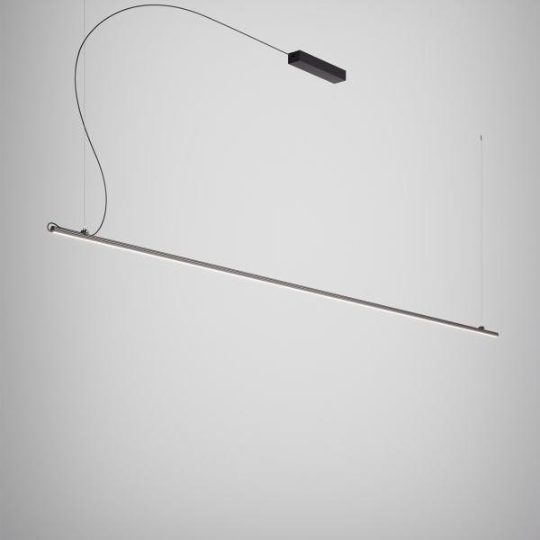Fabbian Freeline F44 Pendel Sort Stor