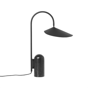 Ferm Living Arum Bordlampe Sort