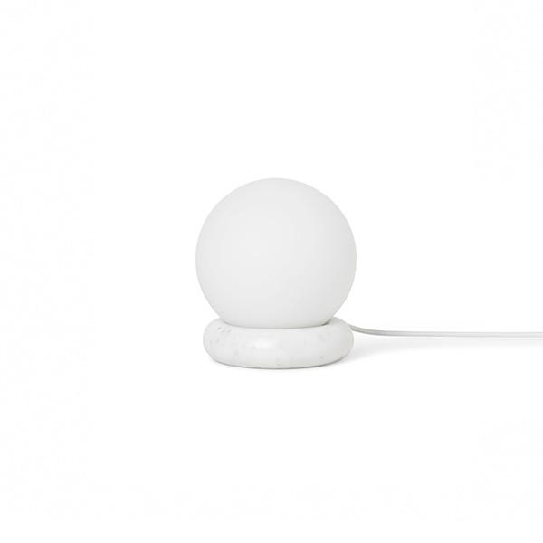 Ferm Living Rest Bordlampe Hvid Marmor