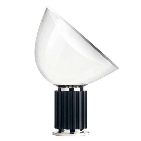 Flos Taccia LED Sort M. Glas Skærm