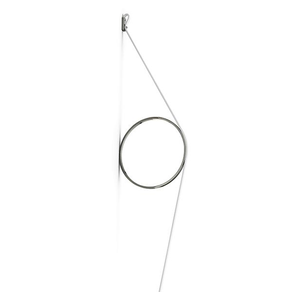 Flos Wirering Væglampe Hvid/Antricitgrå