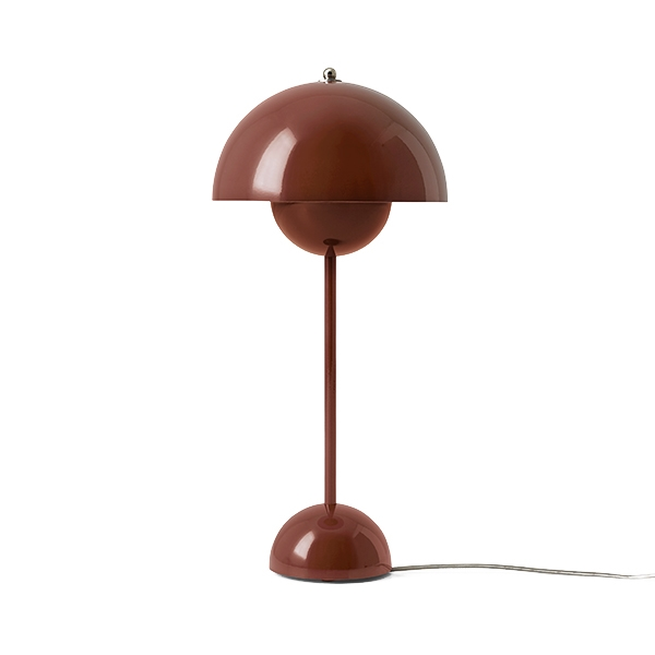 &tradition Flowerpot VP3 bordlampe Rød & Brun
