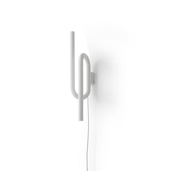Køb Foscarini Tobia Væglampe Hvid M. Ledning