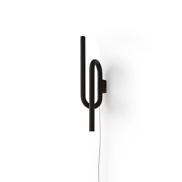 Køb Foscarini Tobia Væglampe Sort M. Ledning