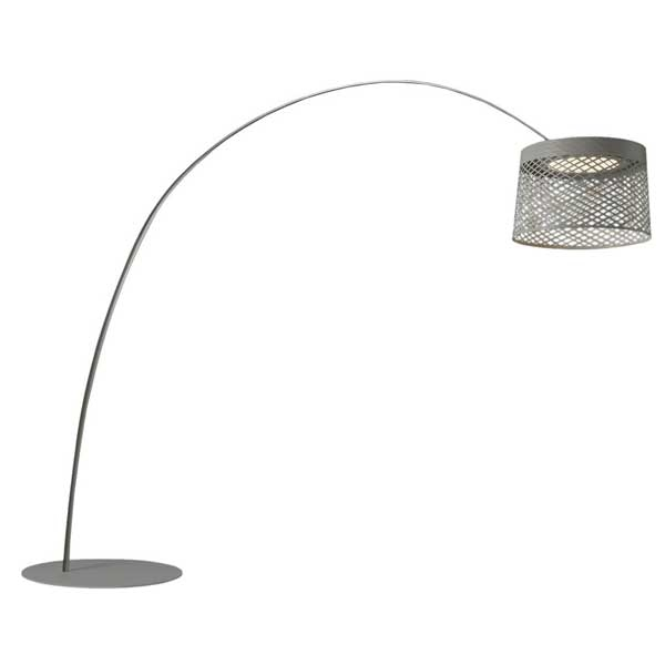 Foscarini Twiggy Grid Gulvlampe Udendørs Grå