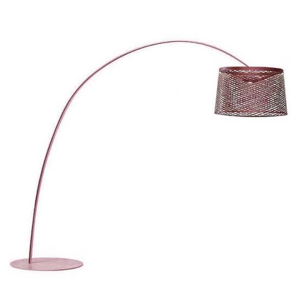 Foscarini Twiggy Grid Gulvlampe Udendørs Rød fra Foscarini