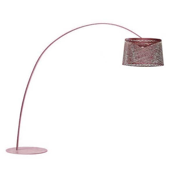 Foscarini Twiggy Grid Gulvlampe Udendørs Rød