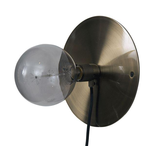 FRAMA E27 Væglampe Bronze Mellem