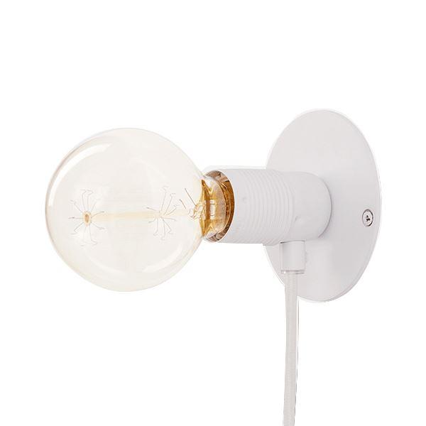 FRAMA E27 Væglampe Hvid Lille