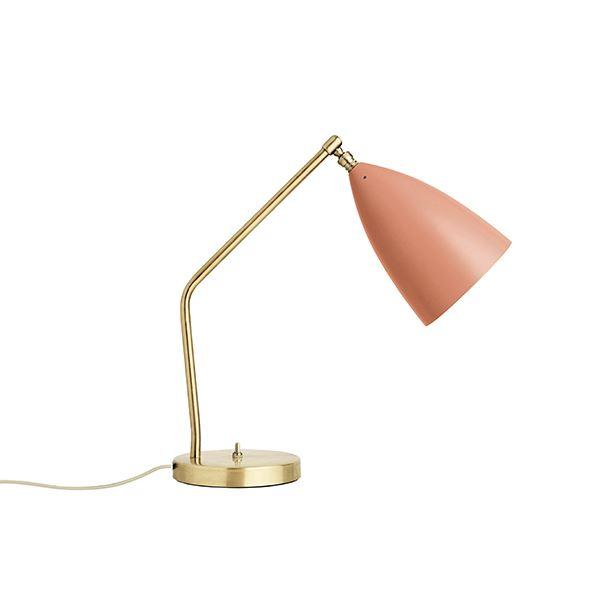 GUBI Grossman Collection Gräshoppa Task bordlampe Vintage Rød thumbnail