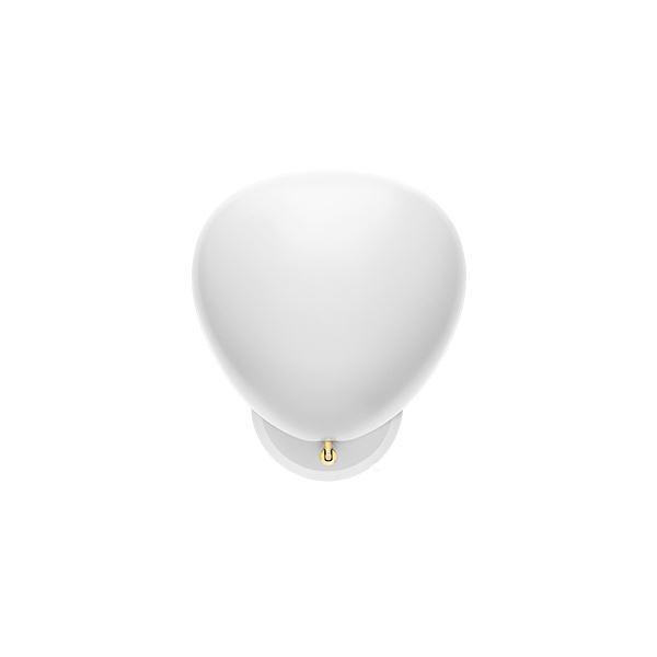 Billede af GUBI Cobra Væglampe Mat Hvid Hardwired