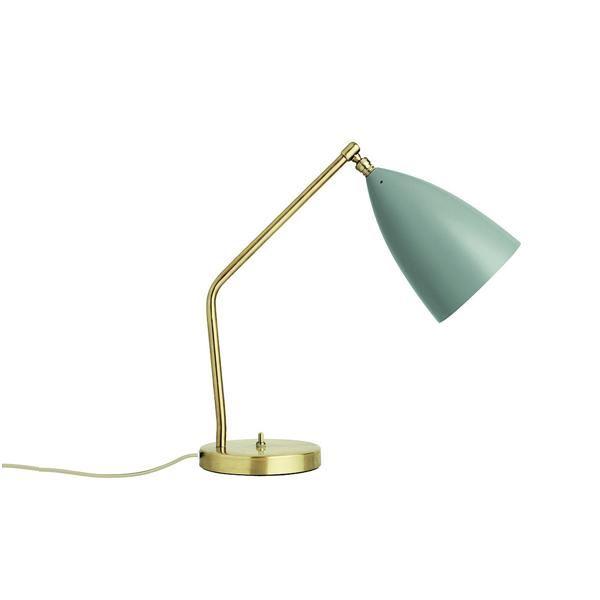 Billede af GUBI Grossman Collection Gräshoppa Task Bordlampe Blå Grå
