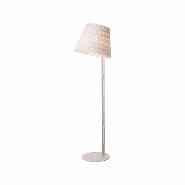 Graypants Scraplight Tilt Gulvlampe Hvid
