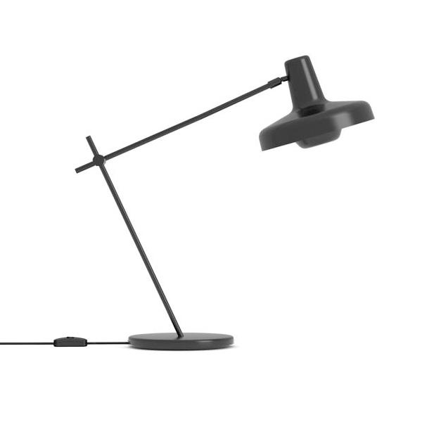 Image of   Grupa Products Arigato Bordlampe Kort Sort
