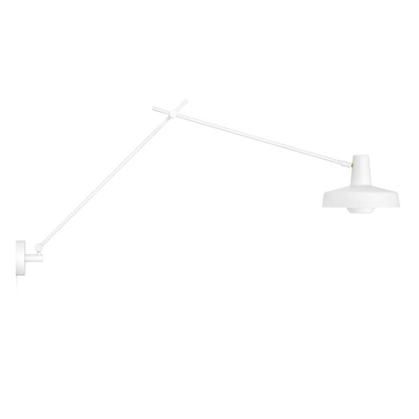 Image of   Grupa Products Arigato Væglampe Lang Hvid