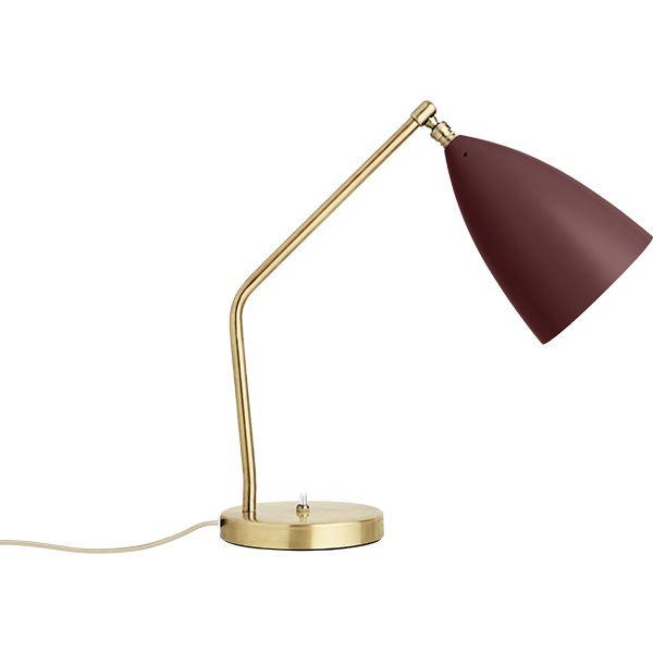 Billede af GUBI Grossman Collection Gräshoppa Bordlampe Rød