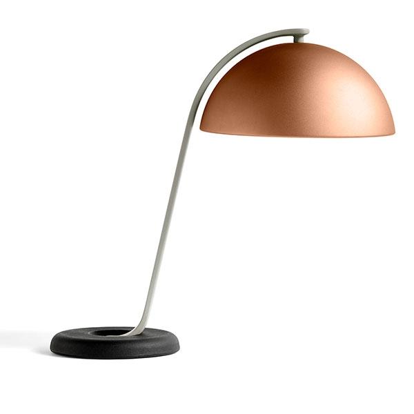 Køb HAY Cloche Bordlampe Mocca/ Sort