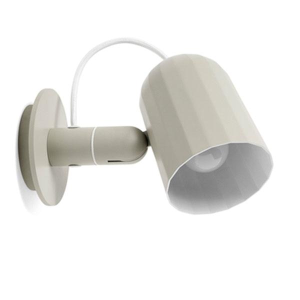 Køb HAY Noc Væglampe Beige M. Ledning