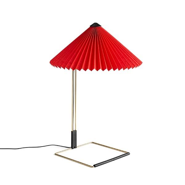 Billede af HAY Matin Bordlampe Mellem Rød
