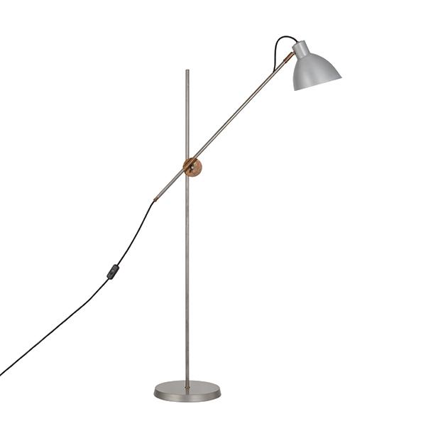Billede af Konsthantverk KH#1 Gulvlampe - Rå Messing & Rå Jern