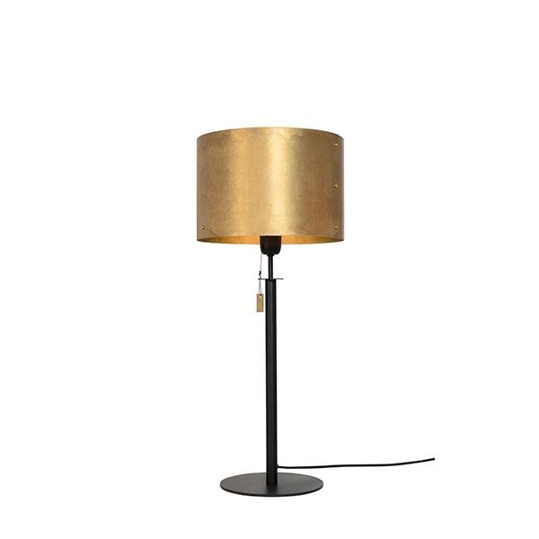 Billede af Konsthantverk Svep Bordlampe Sort/ Messing