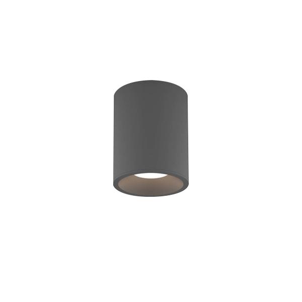 Billede af Astro Kos Round 100 Badeværelseslampe LED Tekstur Grå
