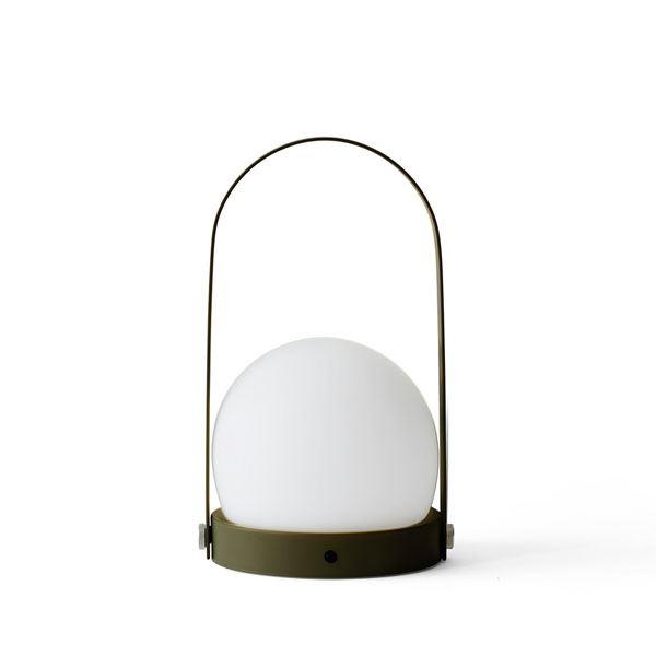 Image of   MENU Carrie LED Bordlampe Oliven