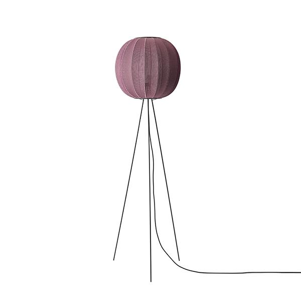 Billede af Made By Hand Knit-Wit Round Gulvlampe ø45 Høj Bourgogne